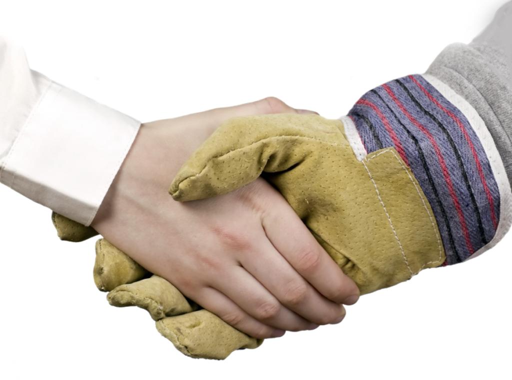 Do right handshake
