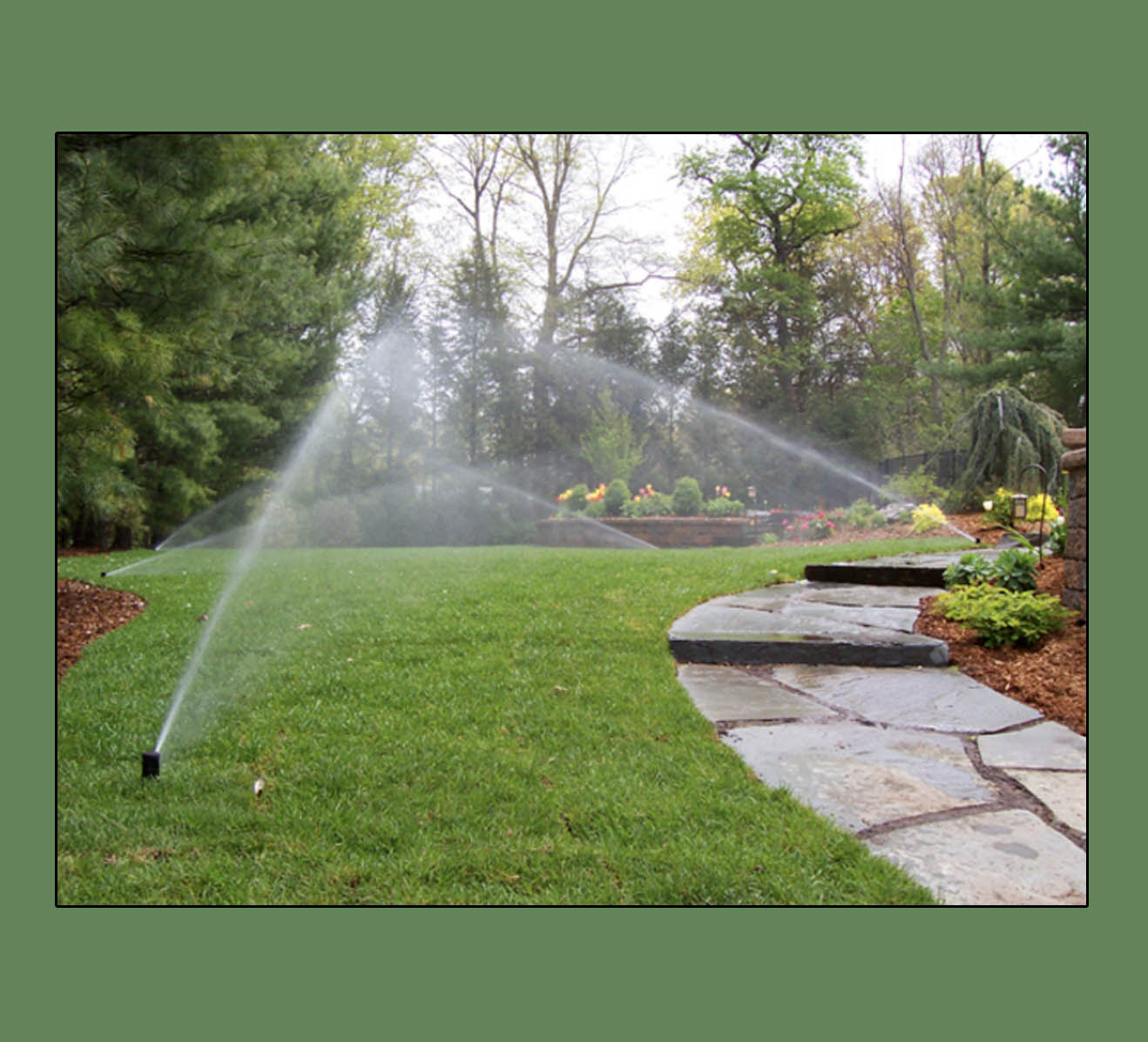 water and forget it residental irrigation by Pinnacle