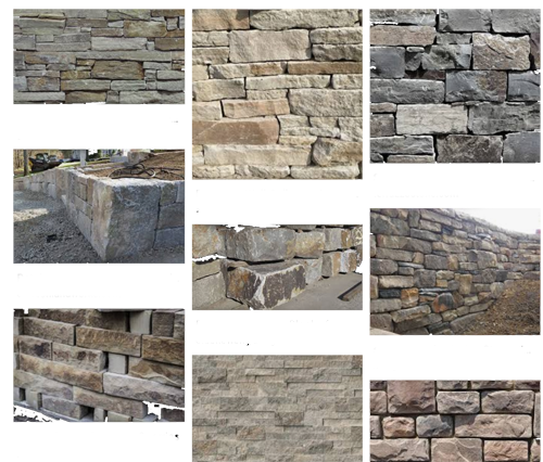 retaining wall materials