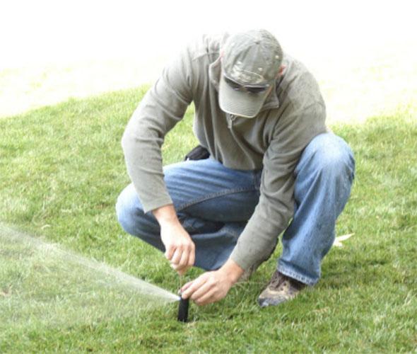 seasonal maintenance for irrigation