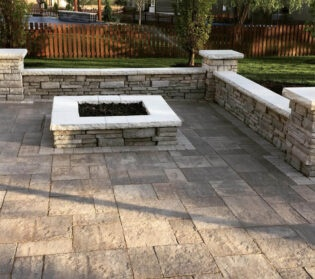 walls for resting and retaining